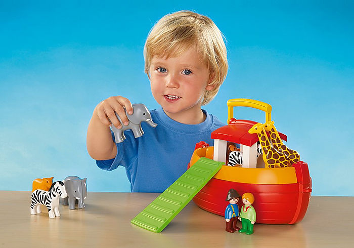 Playmobil 1 2 3 Floating Take Along Noah's Ark