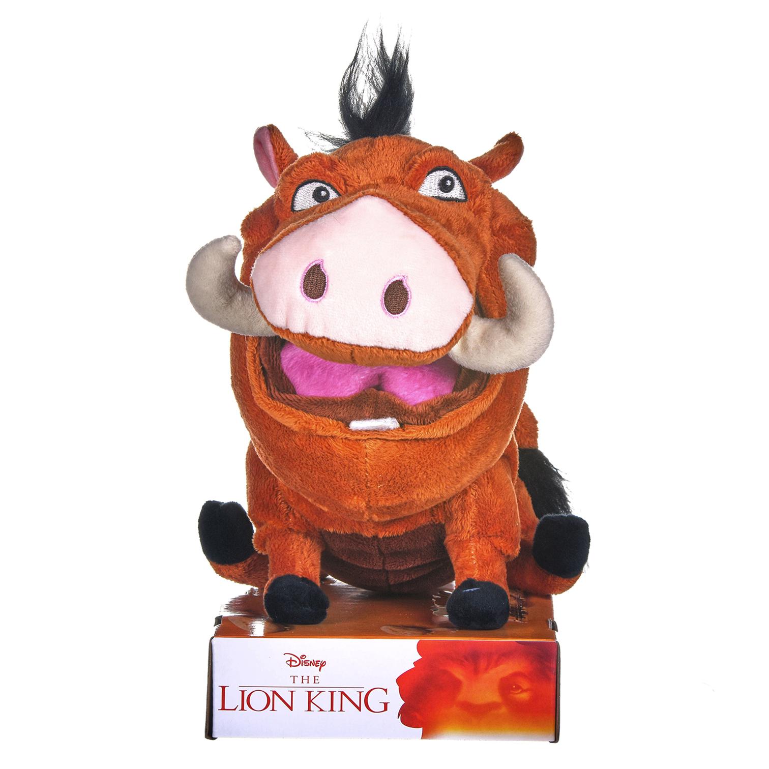 Disney The Lion King Farting Pumba Plush