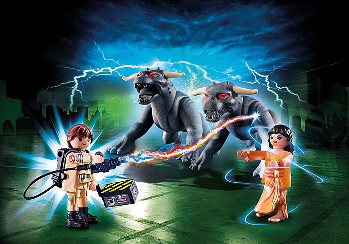 Playmobil Ghostbusters Venkman with Terror Dogs