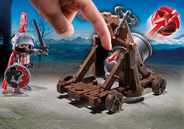 Playmobil Knights Hawk Knights Battle Cannon