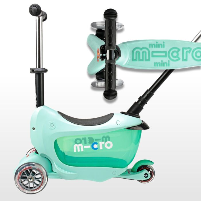Micro Mini 2 Go Deluxe Scooter - Mint