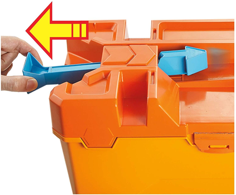 Hot Wheels Track Builder Barrel Box