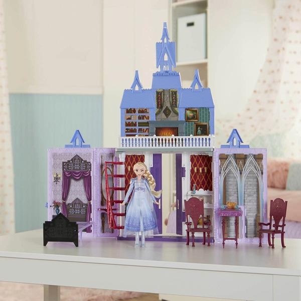 Disney Princess Frozen 2 Fold n' Go Arendelle Castle Playset