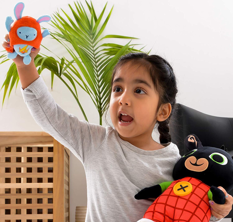 Bing Light Up Talking Bing Soft Toy with Hoppity Voosh