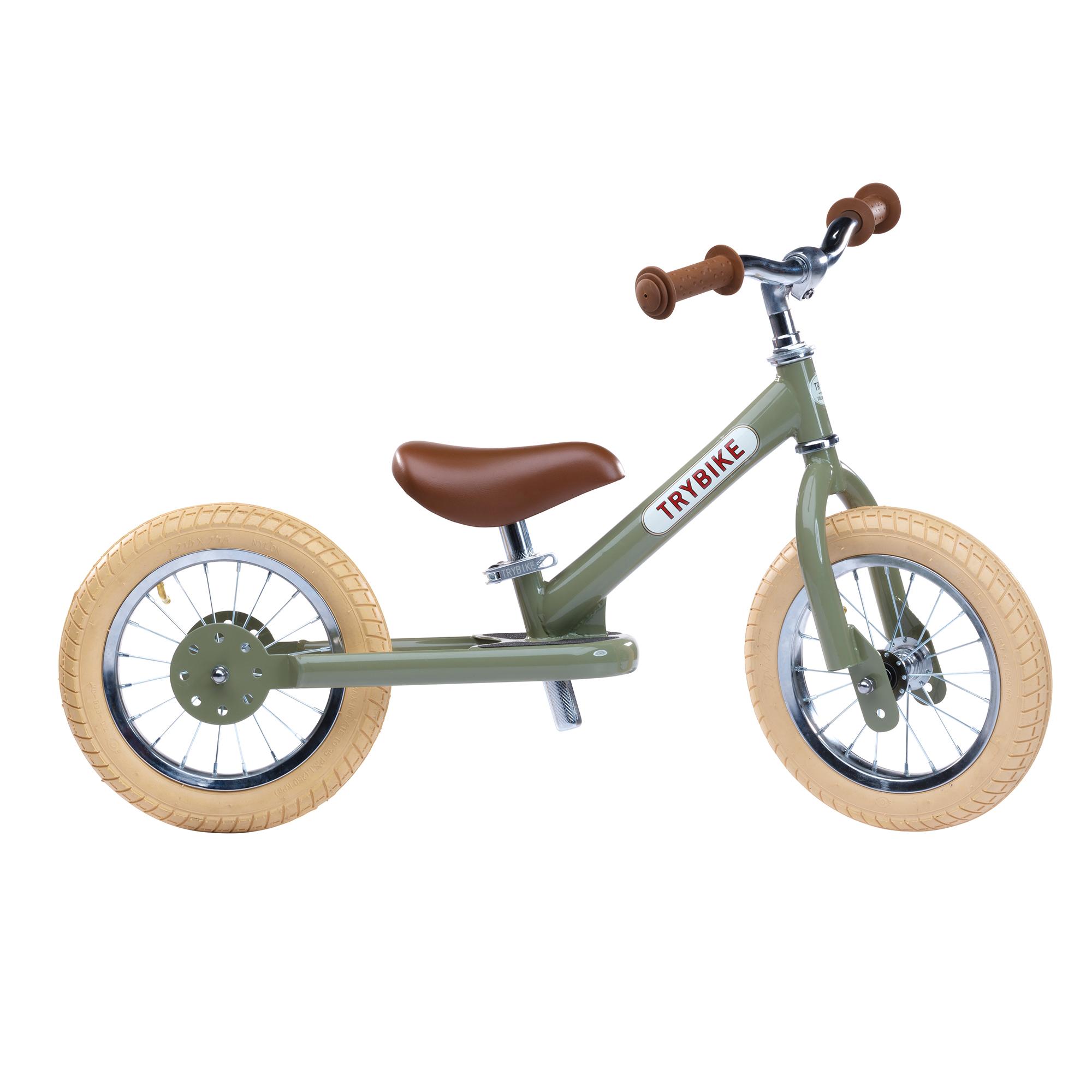 Trybike Steel Vintage 2 In 1 Balance Trike