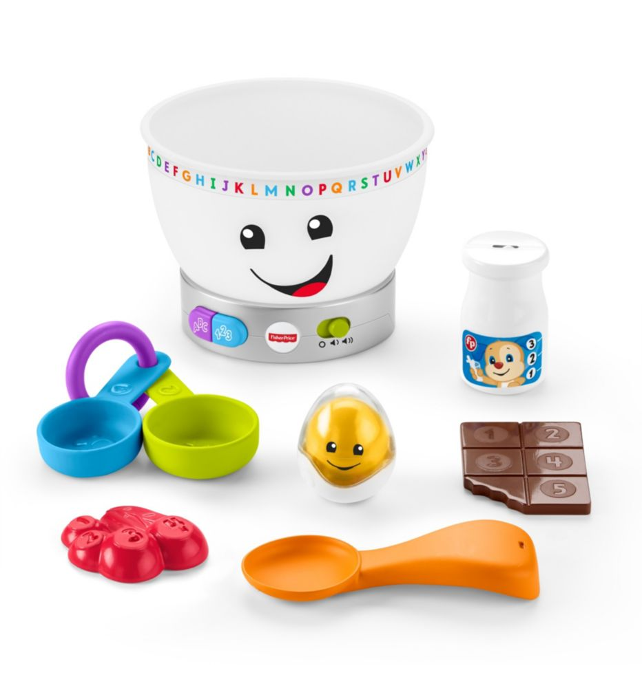 Fisher Price Laugh & Learn Magic Colour Mixing Bowl