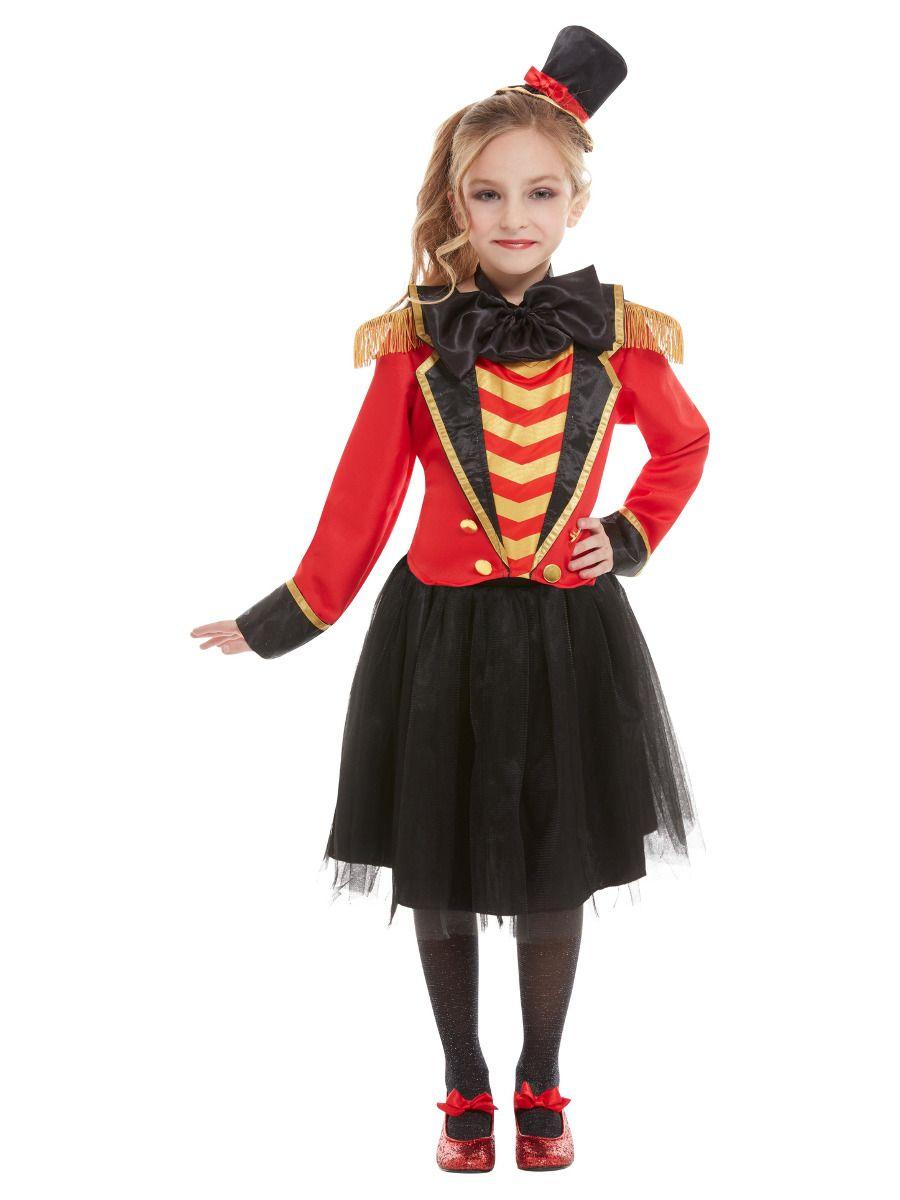Smiffys Deluxe Girls Ringmaster Costume - Small