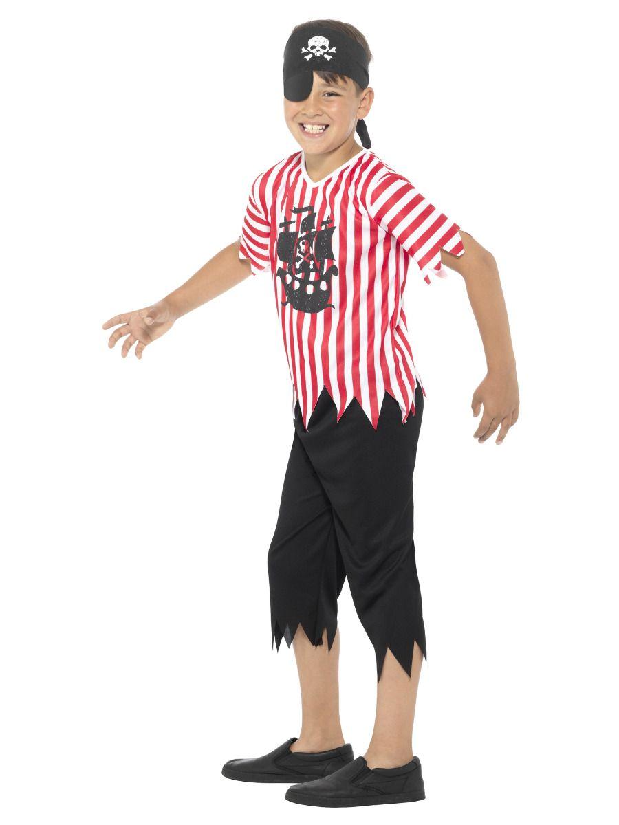 Smiffys Jolly Pirate Boy Costume - Medium