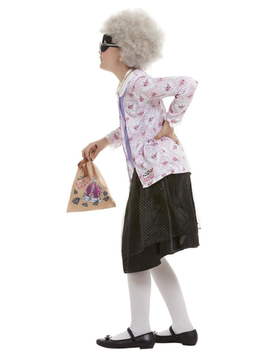 Smiffys David Walliams Deluxe Gangsta Granny Costume - Medium