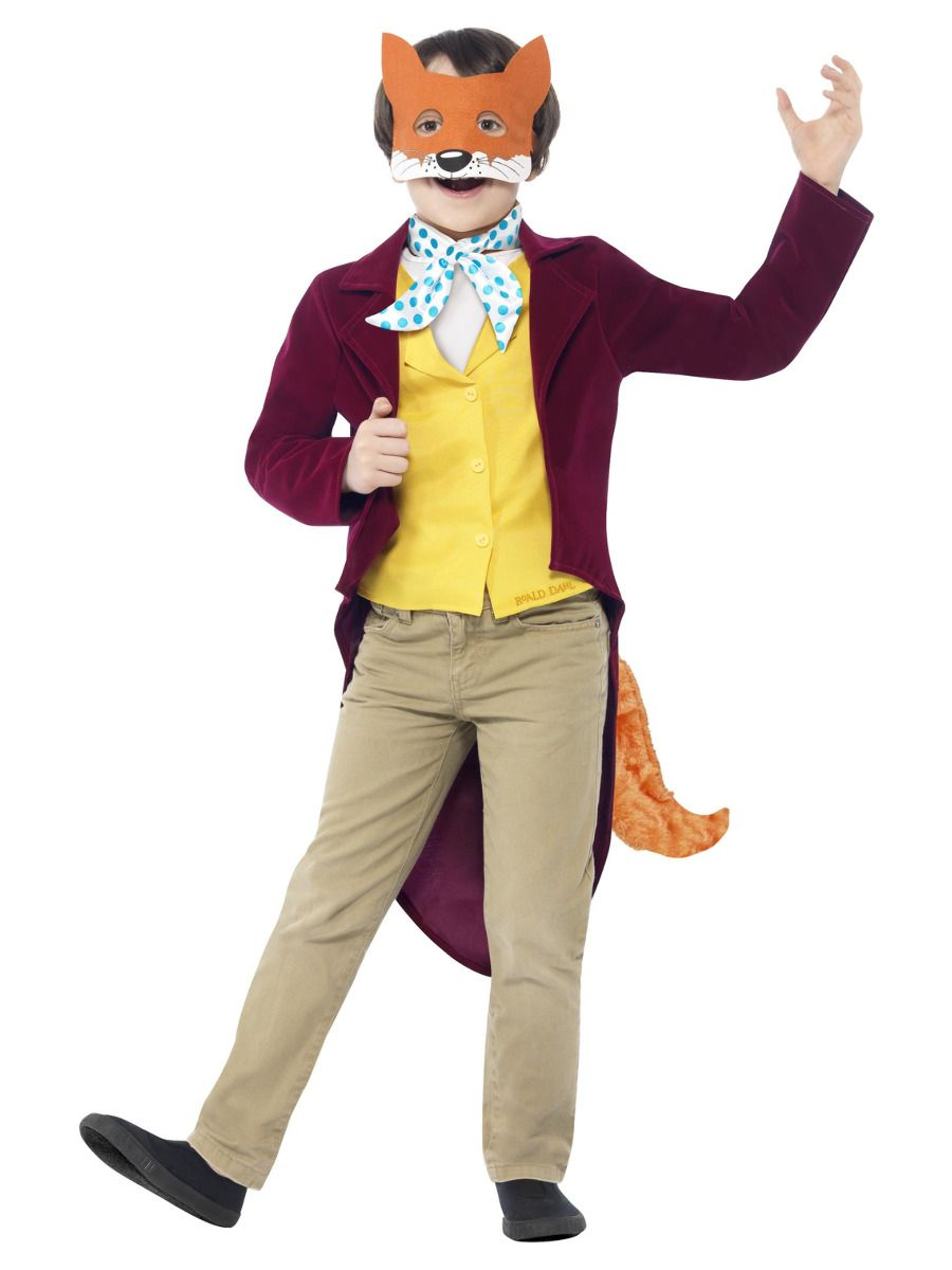 Smiffys Roald Dahl Fantastic Mr Fox Costume - Medium