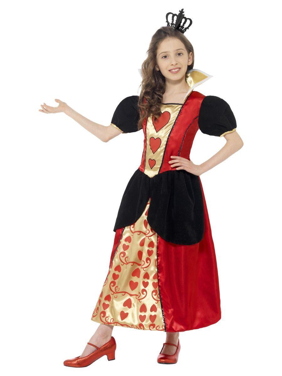 Smiffys Miss Hearts Costume - Medium