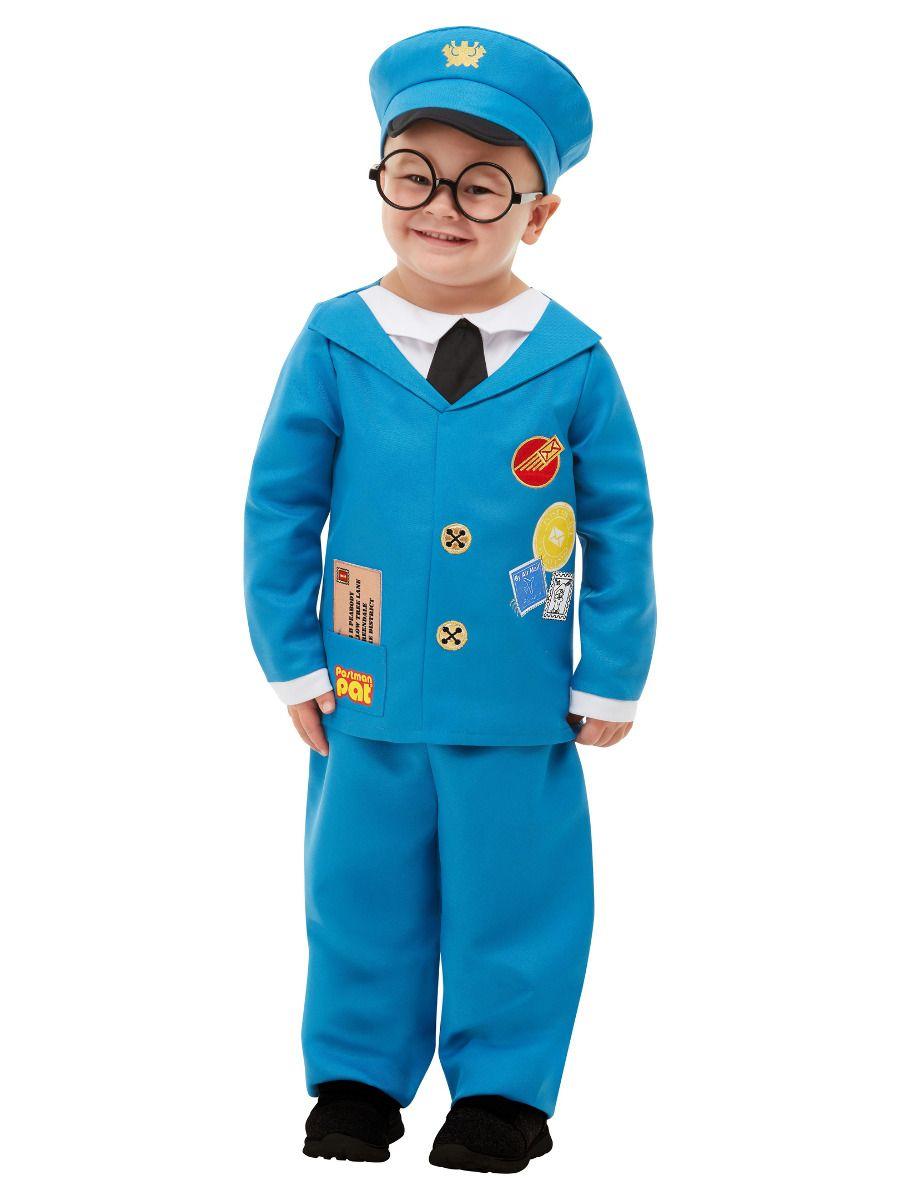 Smiffys Postman Pat Costume - Toddler Small