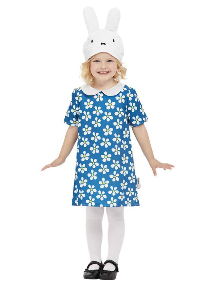 Smiffys Miffy Floral Costume - Small
