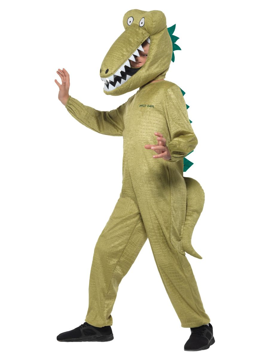 Smiffys Roald Dahl Deluxe Enormous Crocodile Costume - Small