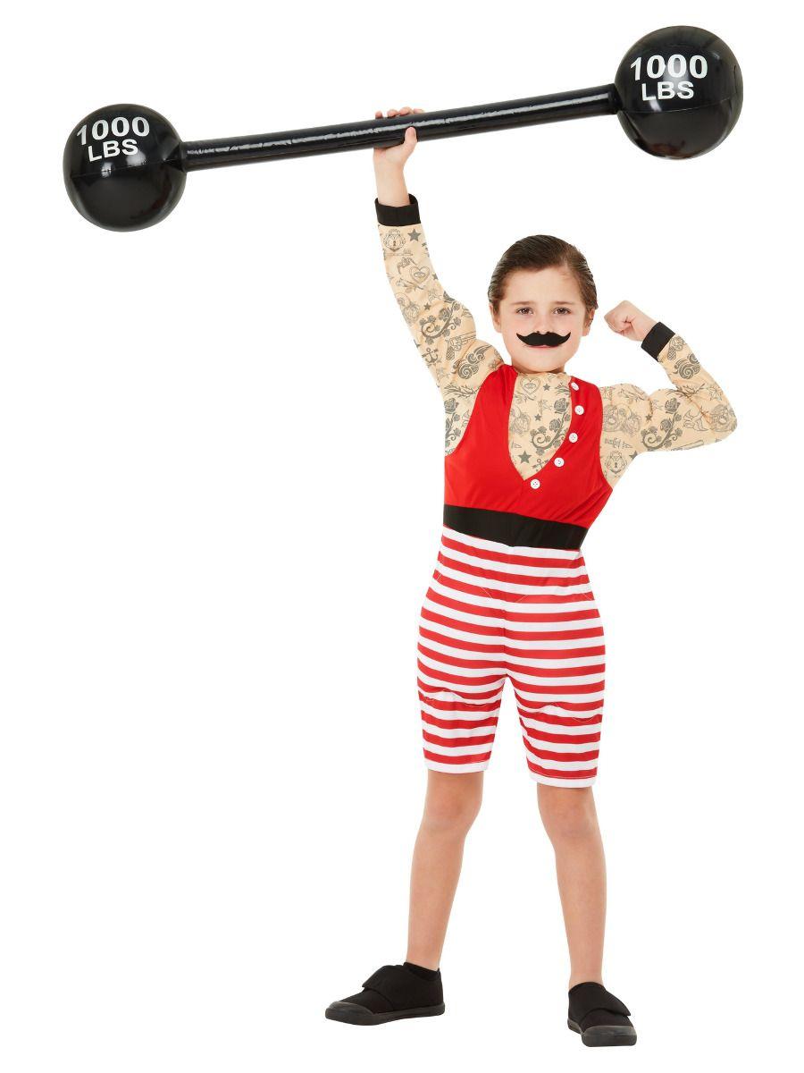 Smiffys Deluxe Strong Boy Costume - Medium