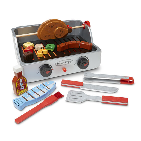 Melissa & Doug Rotisserie and Grill BBQ Set